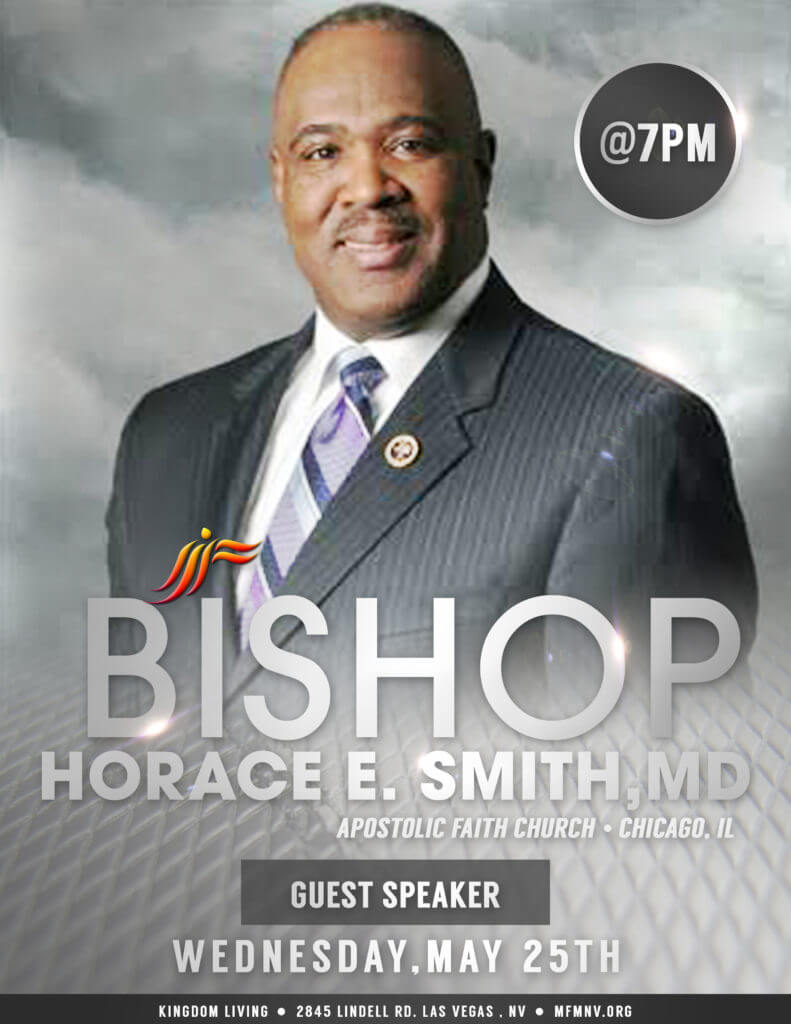 Bishop Horace E Smith Flyer