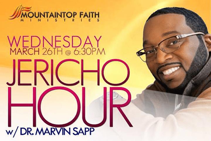 Jericho Hour w/ Dr. Marvin Sapp