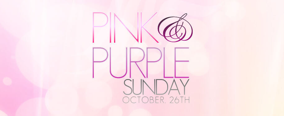 Pink and Purple Sunday