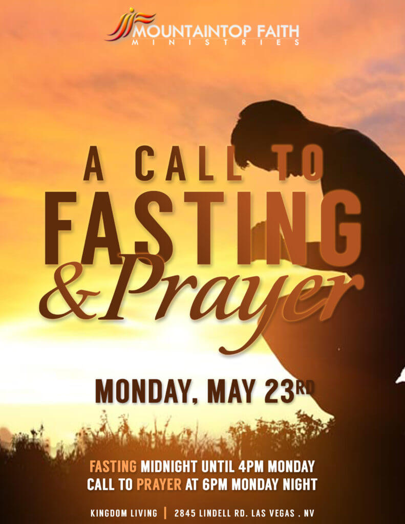 MFM A Call to FastingPrayer Flyer 5-23-16