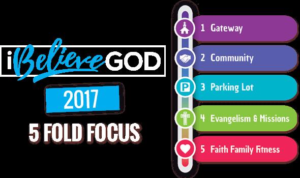 I Belive God 2017 - 5 Fold Focus