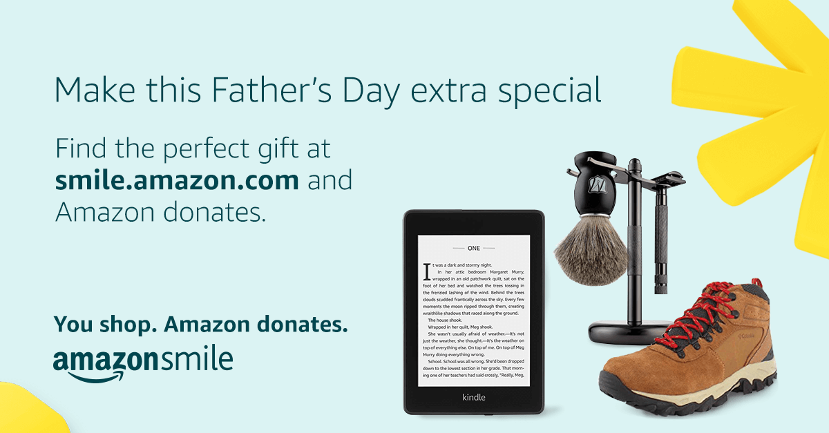 Fathers Days - Amazon donates to Mountaintop Faith Ministries